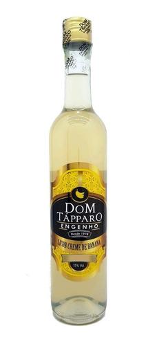 licor de cachaça dom tápparo  creme de banana 750ml