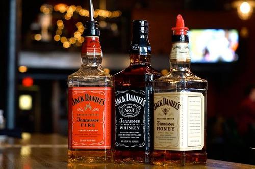 licor jack daniels old no7 honey fire y single barrel
