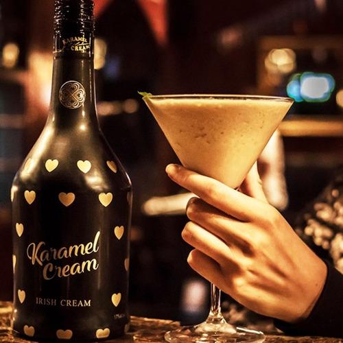 licor karamel cream irish cream -  edicion limitada -