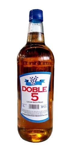 licor seco color ron doble 5 1l