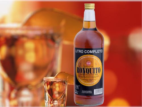 licor seco de ron ronquito botella 1 litro lf