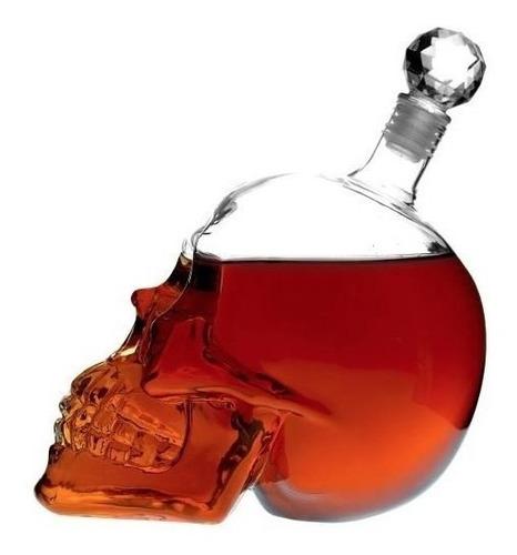 licorera calavera 500 ml