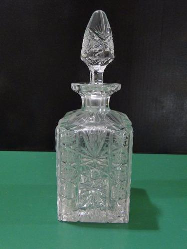 licorera de cristal de bohemia