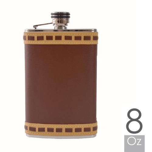 licorera whiskera petaca 8oz en acero inox: por banimported.