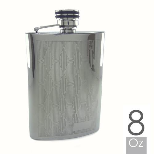 licorera whiskera petaca 8oz en acero inox: por banimported,