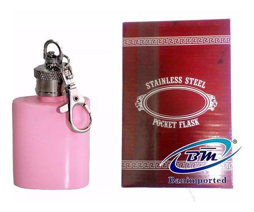licoreras 1.5 oz. capacidad: copa y media- perfumera llavero