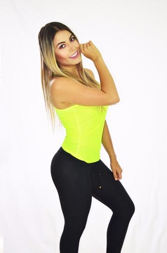 licra deportiva tela fresca variedad c ideal gym / impoluz