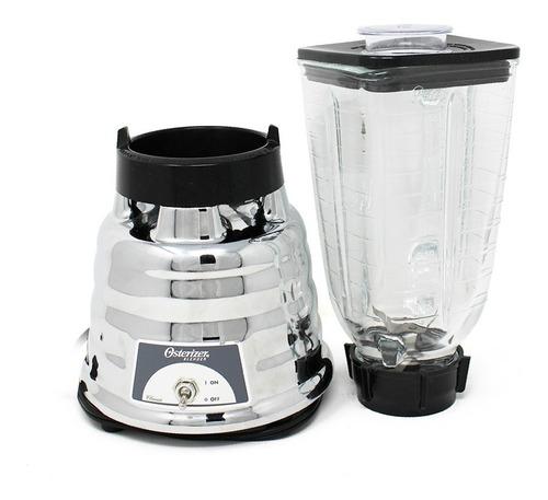 licuadora 1 velocidad vaso vidrio metálica oster 450-10