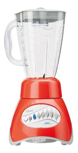 licuadora 10 vel vaso plástico core roja oster 6808-rp0-013