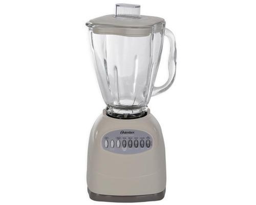 licuadora 10 vel vaso vidrio cube almendra oster 6799-13