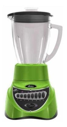 licuadora 10 velocidades v/plástico verde oster blstep7808g
