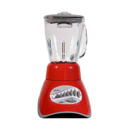 licuadora 12 vel vaso vidrio core roja oster 6805-rg0-013