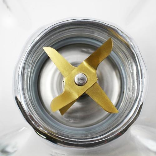 licuadora 2 vel de palanca v/vidrio cromada man lmv-202