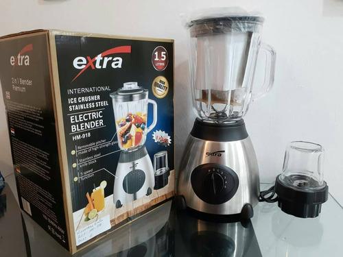 licuadora 2en1 extra light con vaso de vidrio, en oferta.