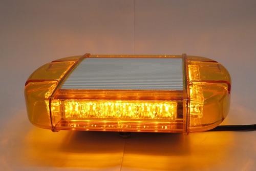 licuadora - baliza  led cuadrada 1 modulo amarilla