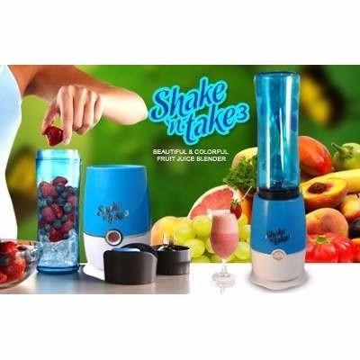 licuadora batidora portatil shake n take 3 doble vaso v.2016