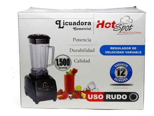 licuadora comercial 10 velocidades v/plástico hot spot z554