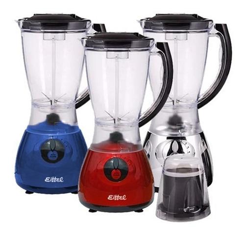 licuadora con molinillo de cafe eiffel 1,5 lts 4 vel 400w