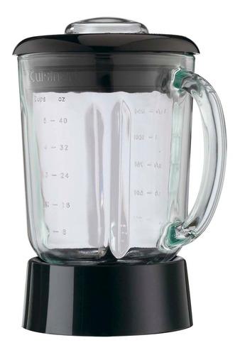 licuadora cromada vaso vidrio 7 vel cuisinart - spb-7ch