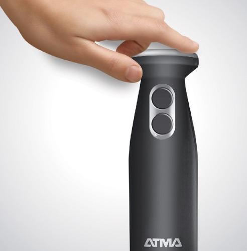 licuadora de mano gris osc 2 vel atma lm8526bnx