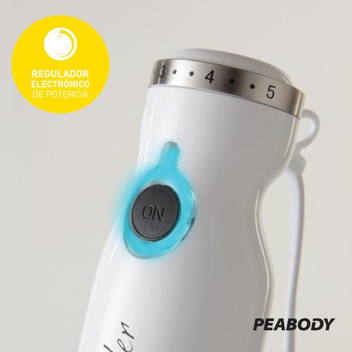 licuadora de mano minipimer picador peabody smartchef 800w
