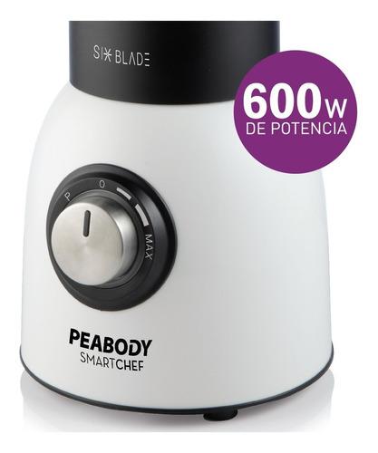 licuadora de mesa 600w pica hielo peabody pe-ln600