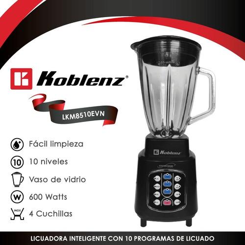 licuadora easy touch con 10 programas koblenz lkm-8510 evn