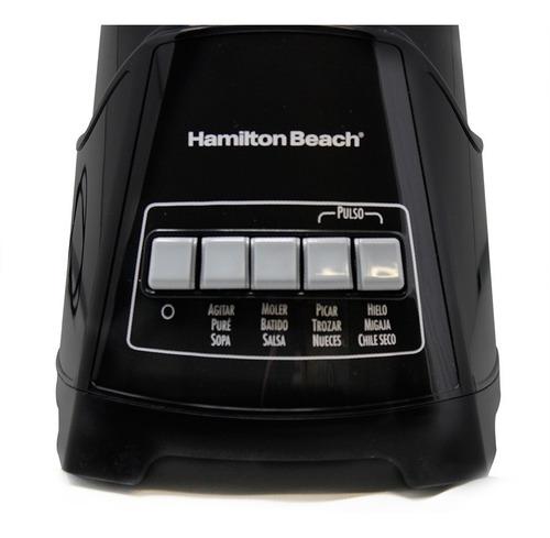 licuadora funciones multiples v/vidrio hamilton beach 58146