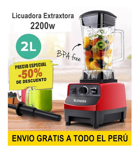 licuadora industrial 2200 watts / 3hp / la mejor / oferta