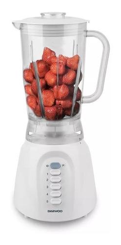licuadora jarra plástica 1,25 lts. daewoo tb9216