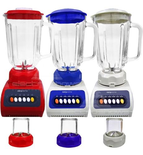 licuadora jarra vidrio retro vintage pica hielo 1,5lts 600w