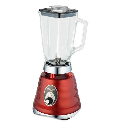licuadora oster 4126 roja 3 vel/ vaso vidrio/600w