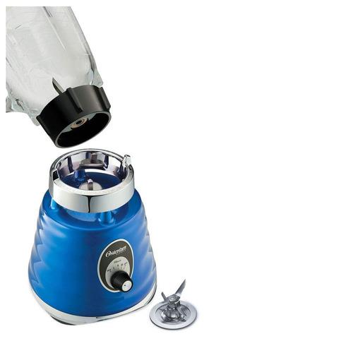 licuadora oster 4134 azul 3 vel/ vaso vidrio/600w