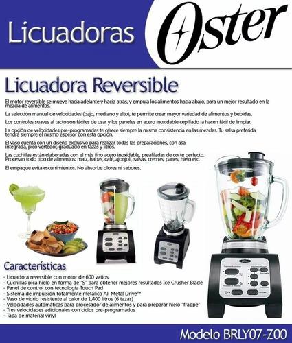 licuadora oster reversible original 1 año de garantia