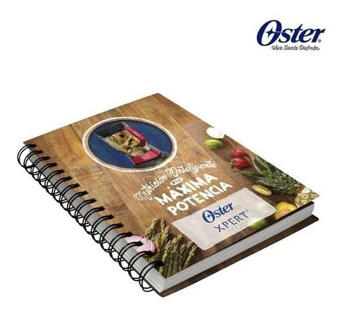 licuadora oster xpert con vaso tritan + guía nutrición nueva