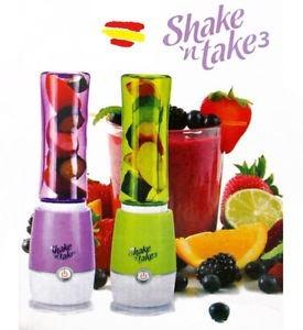 licuadora personal, shake take 3 batidora, batidos 2 vasos.