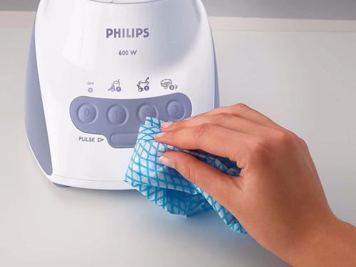licuadora philips hr2034/10 600w jarra plástica 2l filtro 3v