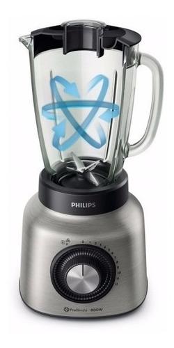licuadora pica hielo philips hr2139/80 800w jarra vidrio