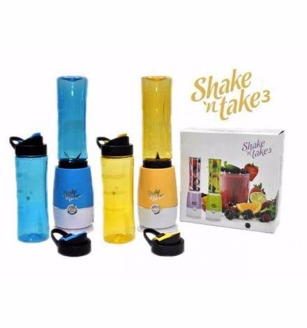 licuadoras batido 2 vasos tapas shake n take