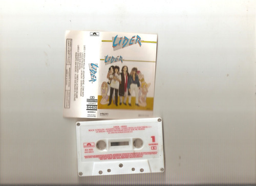 lider - lider   -cassette- maceo-disqueria