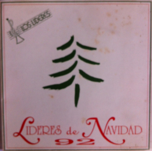 lideres de navidad 92. kiara melissa. cd original, usado
