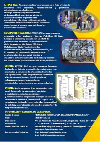 lideres en tecnología electromecánica