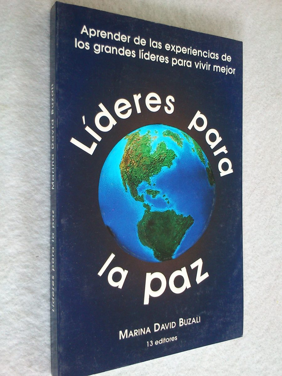 Resultado de imagen para LIBRO LIDERES  PARA LA PAZ MARINA DAVID