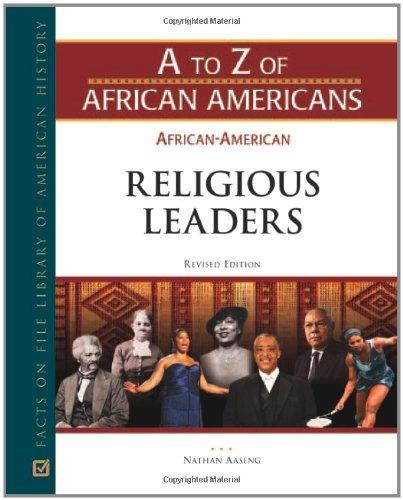 líderes religiosos afroamericanos (de la a a la z de los
