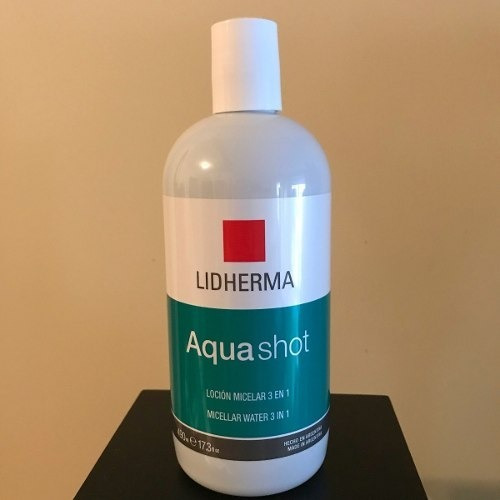 lidherma agua micelar aquashot locion 500ml