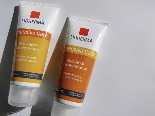lidherma intensive care hand cream crema manos