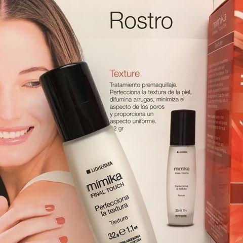 lidherma maquillaje mimika texture pre base