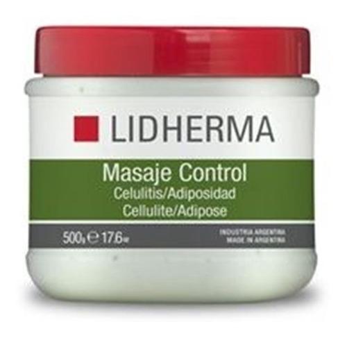 lidherma masaje control celulitis adiposidad