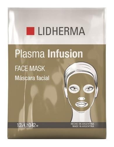 lidherma plasma infusion face mask 1 unidad