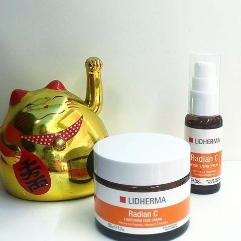 lidherma radian c brightening serum hialuronico vitamina c